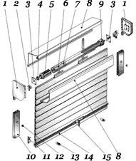 Пружинно-инерционный механизм