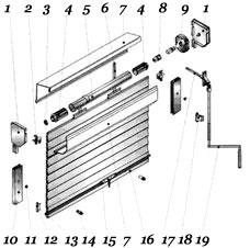 Воротковый (карданный) механизм